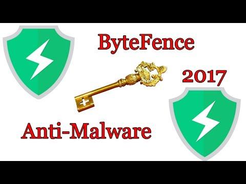 bytefence anti-malware activation key 2018 free