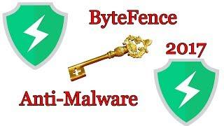 ByteFence Anti-Malware Pro 2.5.0.0 free Activation key   June 2017 (new code)