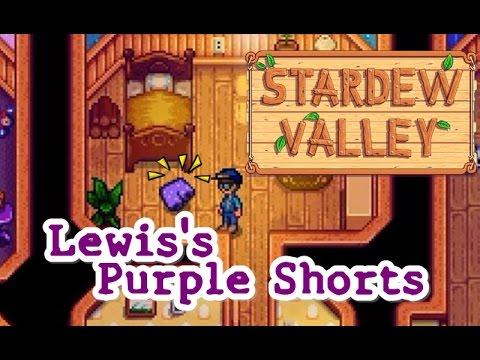 Stardew Valley Lewis Shorts