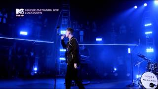 Turn Around - Conor Maynard Live lockdown on MTV live 2015