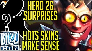 Video NEW HERO PLAYABLE, BLIZZCON ANNOUNCEMENT IS CRAZY, HOTS SKINS COMING!? - Overwatch! download MP3, 3GP, MP4, WEBM, AVI, FLV September 2017