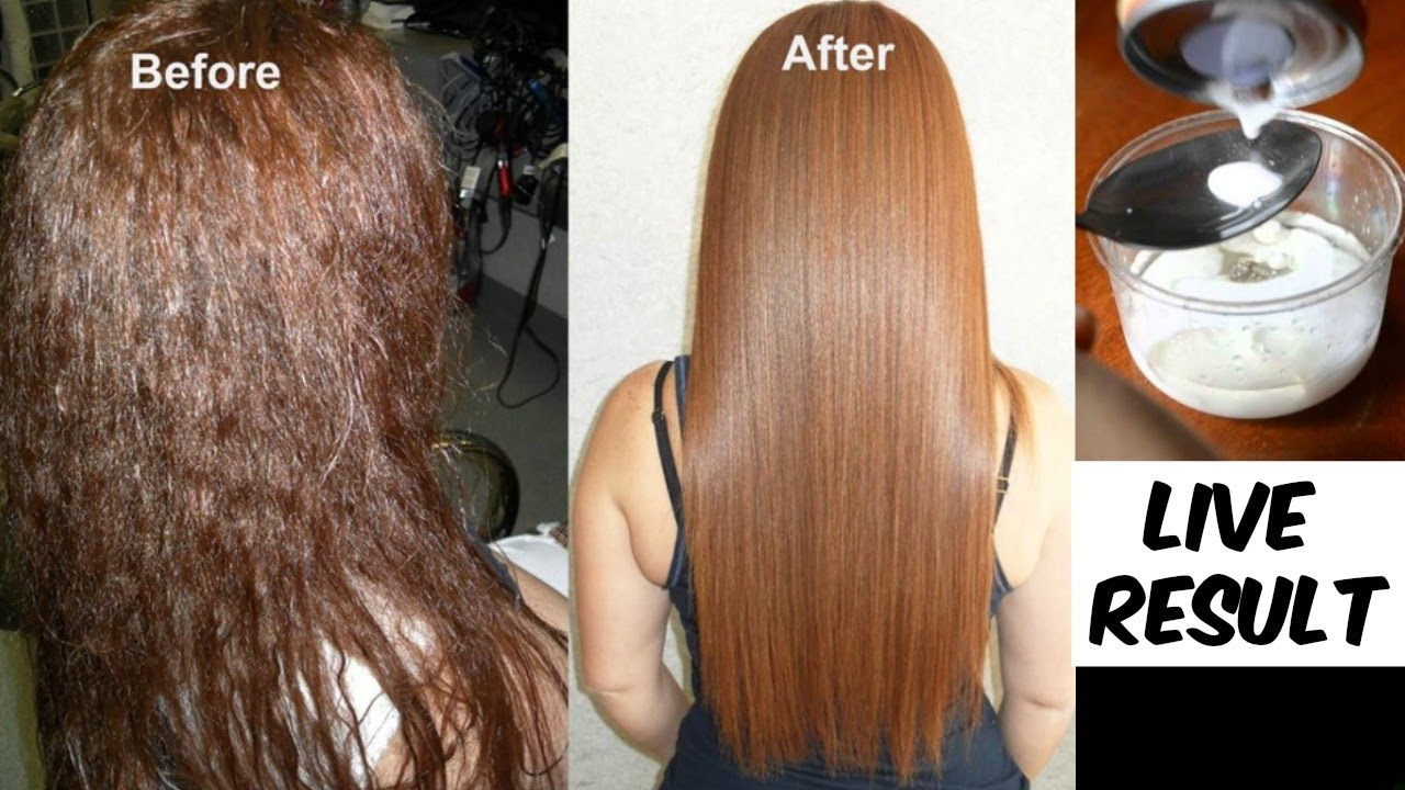 Permanent Hair Straightening At Home Which Is As Good As