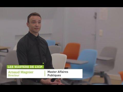 Master Affaires Publiques  | Les Masters De L'ICP
