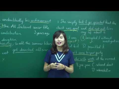 PEN-M Tiếng Anh Cô Hương Fiona - Từ đồng nghĩa, từ trái nghĩa