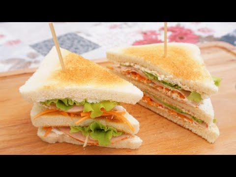club-sandwich-light-🍔-tramezzino-goloso-e-leggero-per-l'estate