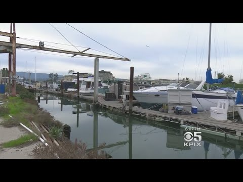 Floating Redwood City Docktown Community Fighting Eviction