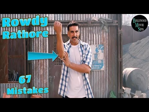 [EWW] ROWDY RATHORE FULL MOVIE (67) MISTAKES FUNNY MISTAKES AKSHAY KUMAR