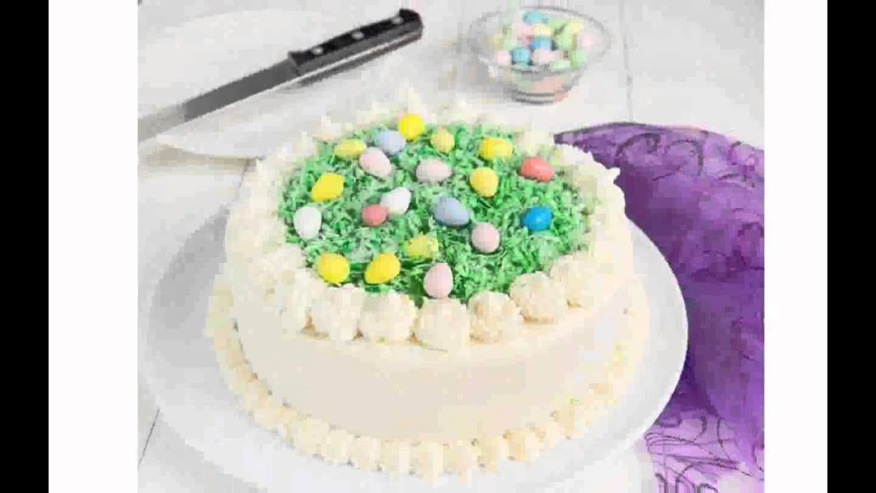 Decorated Easter Cakes
