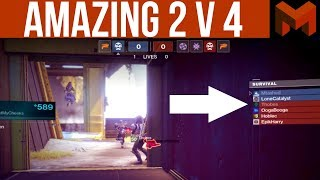 Destiny 2 Forsaken: Amazing 2 v 4 Comp Game!