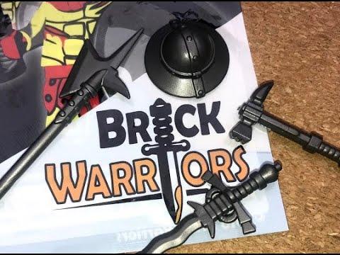 BrickWarriors - Überblick zum Sortiment, Gedanken zur Qualität und Wissenswertes über die Bestellung