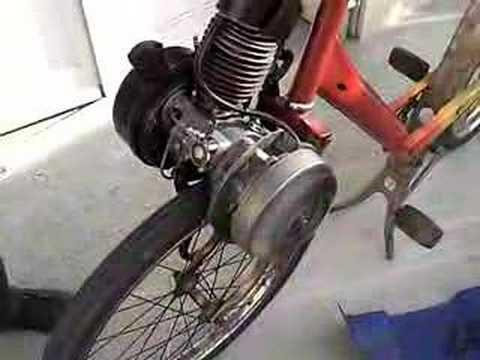 moteur de solex demarrage