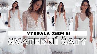 TÝDENNÍ VLOG #33 | Vybrala jsem si svatební šaty!