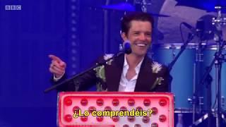 The Killers (Glasgow 2018) - Smile Like You Mean It (traducida)