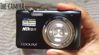 Nikon coolpix A100 camera unboxing review
