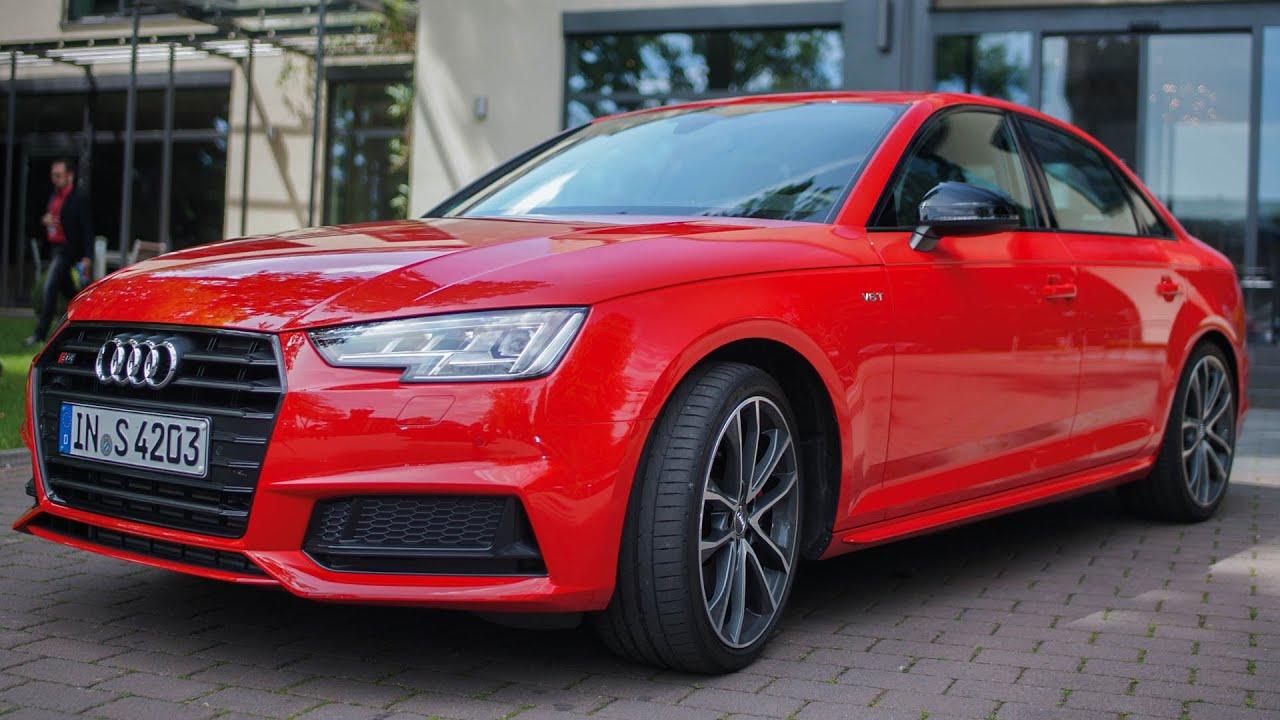 2017 Audi S4 Quattro Limousine Test Drive Fahrbericht Deutsch German Lets