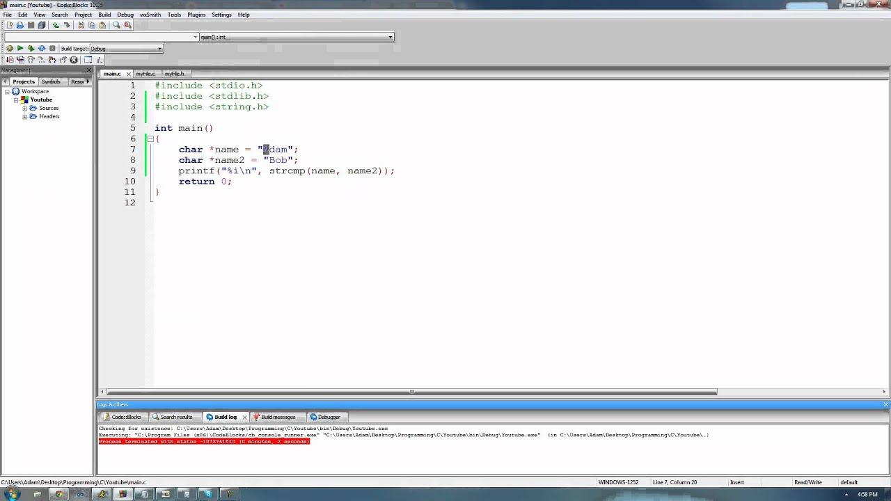 C Programming Tutorial 50, String Functions pt 1