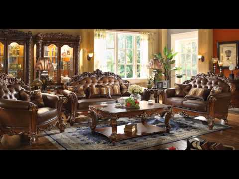 52001 Acme Vendome Living Room Set Sofa