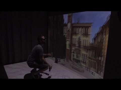 Virtual Reality in a CAVE (L Format) - Dani Marfil