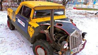 ✅Зверский Хот-Род Пикап из Копейки всего за 10к рублей 🚀 самодельный ВАЗ 2101 Жигули