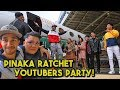 Private Jet Party with Queen LC! HBD BTS