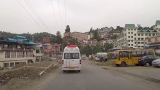 Driving in Solan - Himachal Pradesh, India