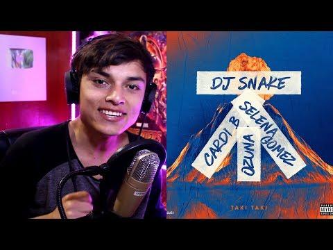 DJ Snake feat Selena Gomez, Ozuna & Cardi B – Taki Taki (Audio) Reaccion
