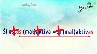 AKTIVA adjetivo em Esperanto