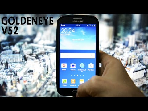 GOLDENEYE V52 - OC6 GALAXY S4 UPDATE - WICKED ANDROID HD