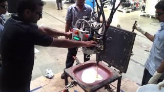 PU foam molded seat manufacturing process at Polycraft Puf Machine Pvt. Ltd.
