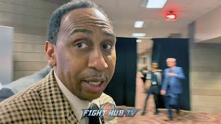 """""""TOTALLY OUTCLASSED HIM!"""" STEPHEN A SMITH REACTS TO TYSON FURY KNOCKOUT OF DEONTAY WILDER"""