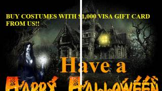 Get Free $1,000 Visa Gift Card For Halloween Costumes GIVEAWAY!!