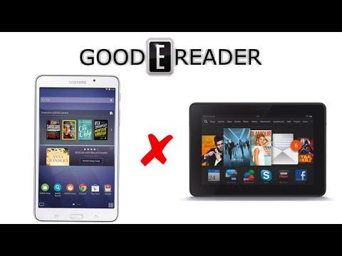 Samsung Galaxy Tab 4 Nook vs Amazon Kindle Fire HDX 7