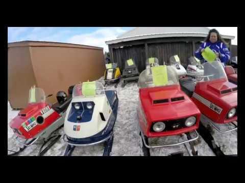 Vulcan Relic Riders 1st Annual Vintage, Antique Snowmobile Show | Jason Asselin