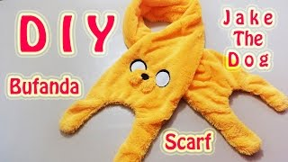BUFANDA | JAKE THE DOG | ADVENTURE TIME / HORA DE AVENTURA | SCARF | DIY - YuureYCrafts