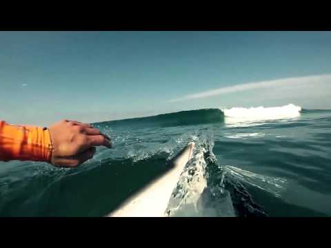 ONE DAY SURFING IN ANZA - AGADIR - MOROCCO // BLUE WAVE SURF HOUSE