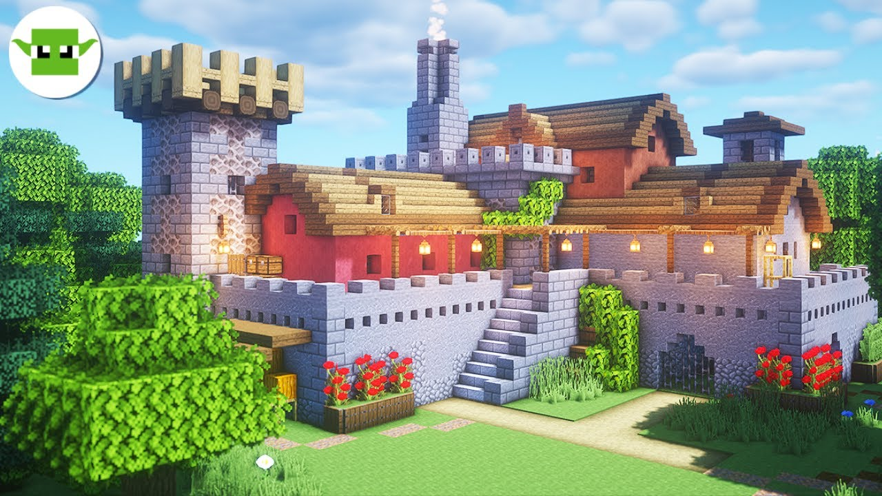 Minecraft 1 15 Fortified House Tutorial Easy 5x5 Andyisyoda System Youtube
