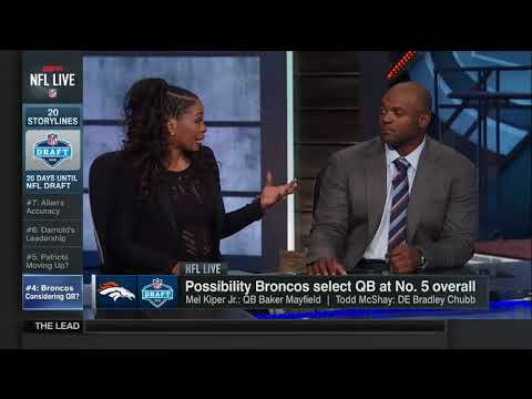 NFL Live(April 06, 2018)Analysts break down the latest news in the...