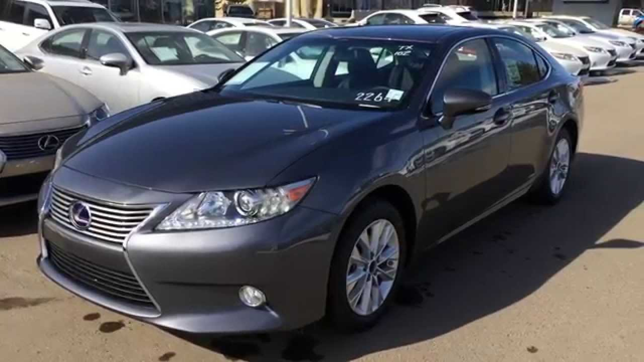 2014 lexus es 300h hybrid 4dr sdn premium package review youtube. Black Bedroom Furniture Sets. Home Design Ideas