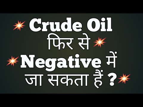 Crude Oil फिर से Negative में जा सकता हैं ? | crude oil intraday trading strategy | Crude Oil Price