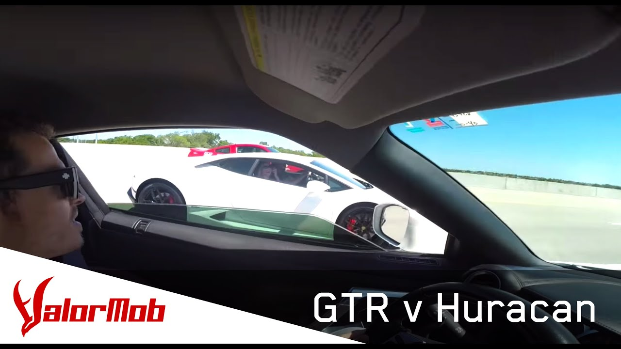 sbd800 gtr vs lamborghini huracan youtube. Black Bedroom Furniture Sets. Home Design Ideas