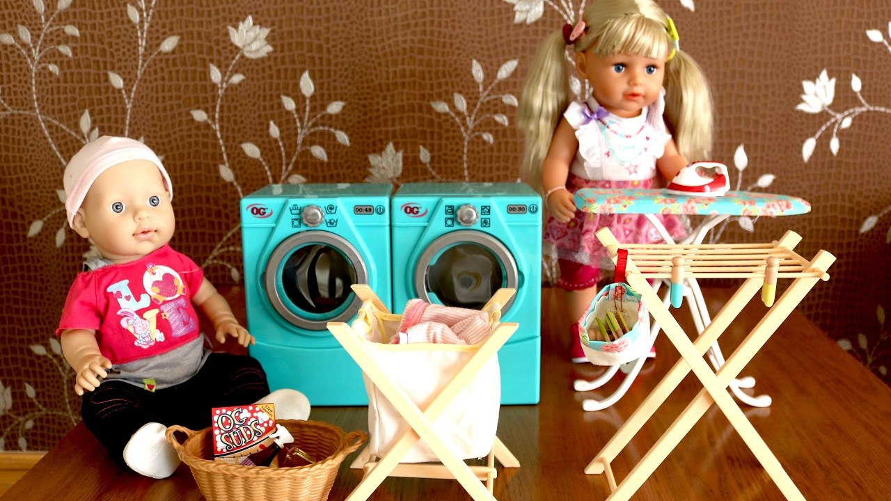 Baby Annabell Baby Born Toy Washing Machine Our