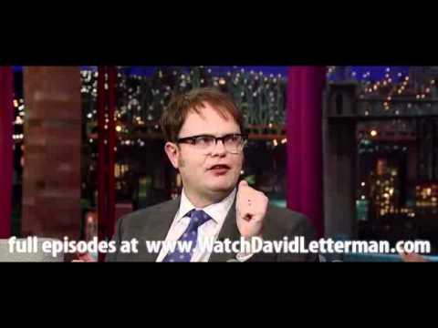 Rainn Wilson in Late Show with David Letterman February 23, 2011