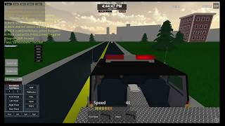 Roblox County Engine 16 Responding to working house fire
