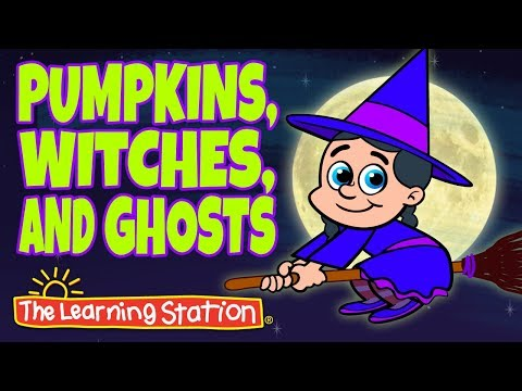 Pumpkins, Witches and Ghosts  Halloween Songs for Kids  Popular Halloween Songs for Kids