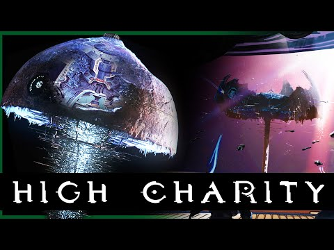 Covenant Capital Space Station is MASSIVE | High Charity COMPLETE Breakdown | Halo Lore