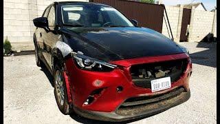 Mazda CX 3 2019 за 6700$. Без повреждений. Выгрузка и осмотр авто из США