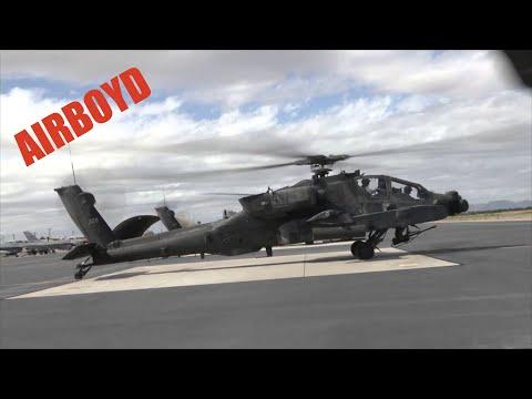 Apache Longbow Over Marana