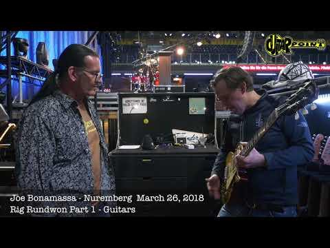 Joe Bonamassa Gear Introduction - Guitars 2018 / GuitarPoint Maintal / Vintage Guitars