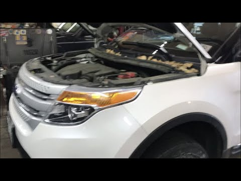 2013 Ford Explorer Front Bumper And Headlight Removal