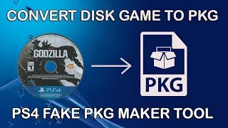 How to dump PS4 Disk Game to PKG and Install PS4 HDD With USB